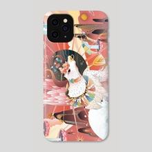 The legends of Mountains and Seas - Phone Case by Adela Li