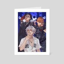 Mad Trigger Crew - Art Card by Yomiya