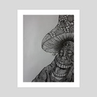 Shroomi - Art Print by Artisticallycrooked
