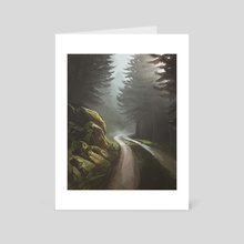 Forest Road - Art Card by Madli