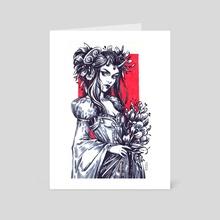 Demon Princess - Art Card by Maria Dimova