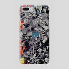 ninja batman - Phone Case by YUMMY