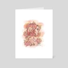 Lady Bird - Art Card by Simona