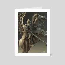 Hussar 2 - Art Card by Przemek Nawrocki