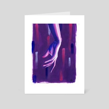 Graphic | Arcylic Painting - Art Card by Noes Art