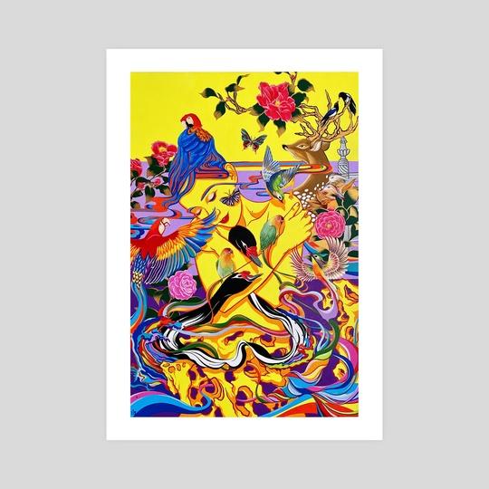The Call of Love by Yin Lu