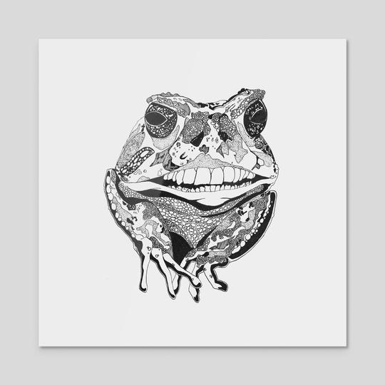 Frog by Anne Seelmann