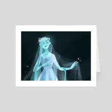 Ghost - Art Card by hotaru jaejae