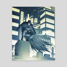 Dark Knight - Canvas by Jose  Real