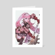 Hilda (Fire Emblem Three Houses) - Art Card by Yuuto