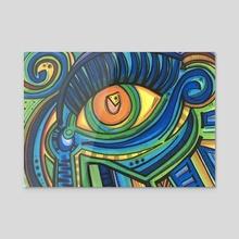 Eye eye eye  - Acrylic by ThEclecticFunk