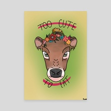 Too cute to eat - Canvas by Phil Backus