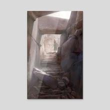 Labyrinth - Acrylic by Alexander Forssberg