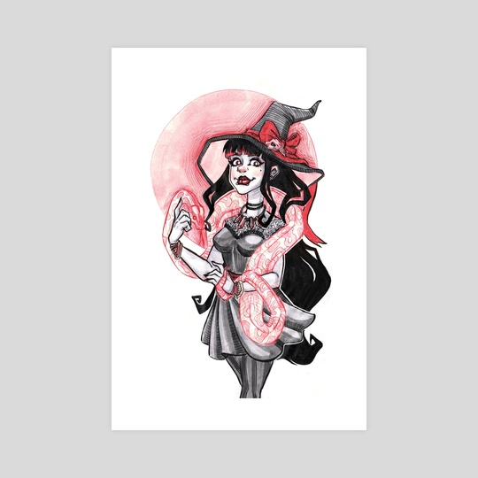 Witchy Rose by Amanda Blatch