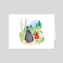 Victorians girls - Art Card by Roby-boh