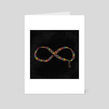 Friends Forever - Art Card by Julia Sonmi Heglund