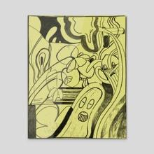 Flowercrown - Acrylic by Gambocean