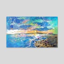 Sunset - Acrylic by Gouache & Ink