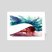 Modern Theatre - Art Card by El Tinois