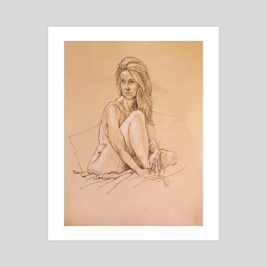 Jayne B. by Ken Vonderberg