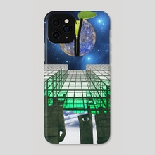 HIGHER DIMENSION OF AWARENESS - Phone Case by Gloria Sánchez