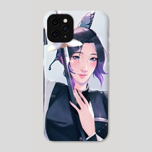 the Butterfly Pillar  - Phone Case by rosheruuu