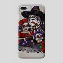 El Dia de los Muertos - Phone Case by Incantata Gallery