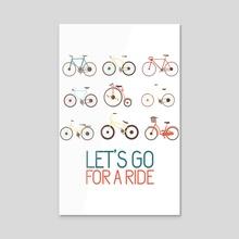 Let's go for a ride - Acrylic by Alexandre Ibáñez