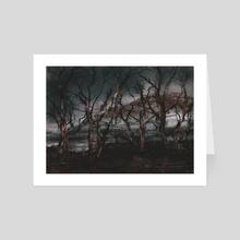 Murky Forest - 2016 - Art Card by Jay Bhooshan