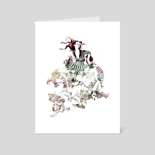 The Garden [colour version] by Kirsti Wakelin