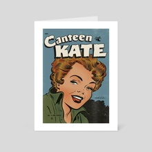 Canteen Kate Edition #02 - Art Card by Luc Playoust