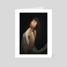 Victoria ix - Art Card by RhiI Photography