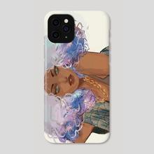 cloud girl 2 - Phone Case by muna abdirahman