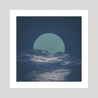 dizvid sunrise - Art Print by drewmadestuff