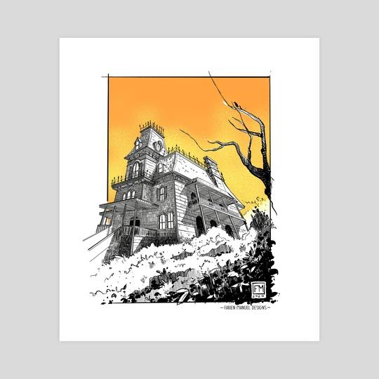 "PHANTOM MANOR DISNEYLAND ""Hurry Back"" by FABIEN MANUEL"