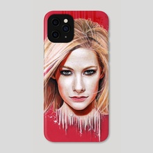 Avril - Phone Case by Boris Toledo Doorm