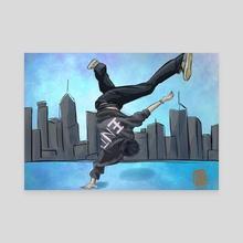 BREAK - Canvas by Amy Nguyen
