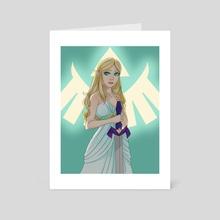 Zelda - Art Card by Shea B