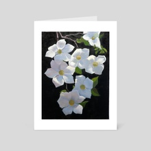 Dogwood Blossoms - Art Card by Armand Cabrera