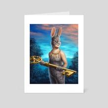 Keys - Art Card by Luz Tapia