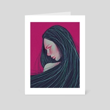 In Another World - Art Card by Darriel McLaurin