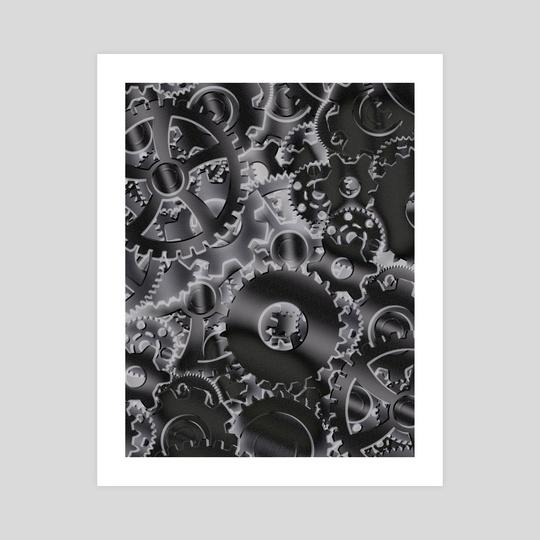 Cog wheels by Bruce Rolff