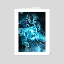Iron - Sub  - Art Card by Kode Subject