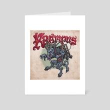 Krampus - Art Card by Phineas Jones
