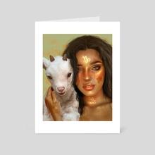 Capricorn - Art Card by Tati MoonS