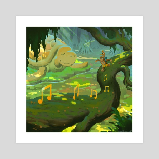 Bubblegloop Swamp by Matt Rockefeller