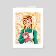 Anne Shirley - Art Card by Luz Tapia