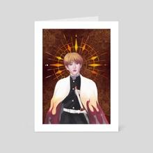 HAN [Flame Pillar] - Art Card by Pat Vivas