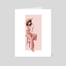 Fashion Designer - Art Card by Mélanie Bouillat