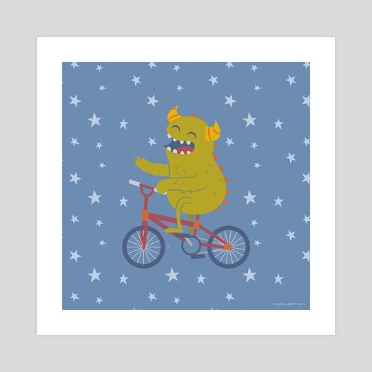Cycling Monster by Greg Abbott